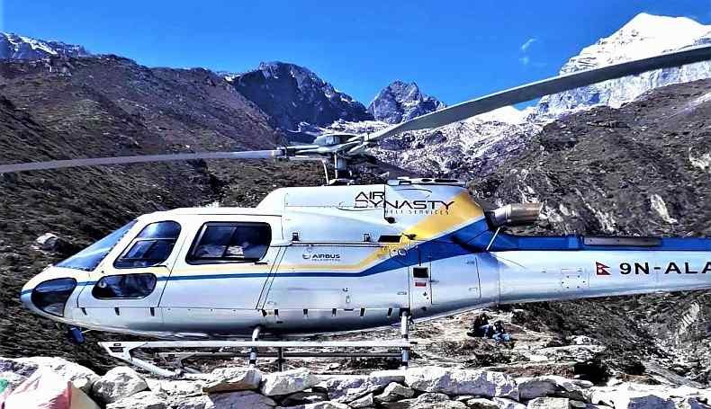everest heli tour 4 hours with landing
