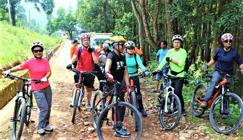 Mountain Biking With Home Stay